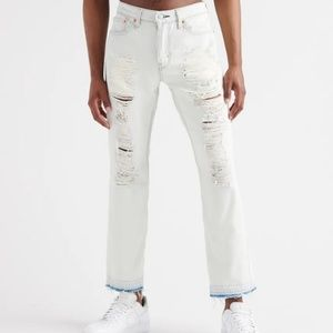 mens levis 511 Slim fit distressed jeans